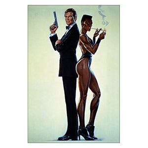 James Bond: A View to a Kill. Размер: 20 х 30 см
